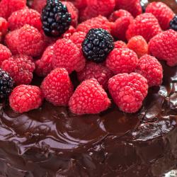Raspberry Chocolate Cake Dairy Free