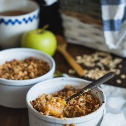 Apple Oatmeal Crsip